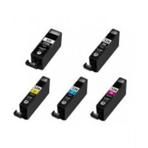 Canon CLI-526 Bk,C,M,Y + PGI-525Bk multipack - kompatibilní