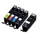Canon CLI-551XL Bk,C,M,Y + PGI-550XL Bk multipack - kompatibilní