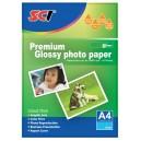 SCI GPP-260 Glossy Inkjet Photo Paper, 260g, A4, 20 listů, lesklý fotopapír