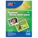 SCI GPP-260 Glossy Inkjet Photo Paper, 260g, A3, 20 listů, lesklý fotopapír
