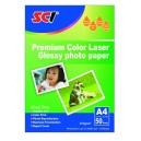SCI HL-200 Glossy Color Laser Photo Paper, 200g, A4, 50 listů, lesklý laser fotopapír
