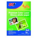 SCI HL-157 Glossy Color Laser Photo Paper, 157g, A4, 50 listů, lesklý laser fotopapír