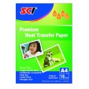 SCI T-shirt Transfer Paper A4, 10 listů, nažehlovací papír na tmavá trička